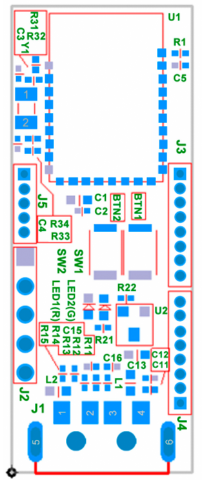 Digimore UDK-CC2540 Bluetooth 4 0 USB Dongle Development